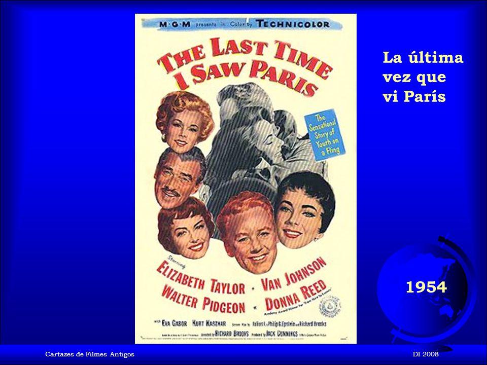 Cartazes de Filmes AntigosDI 2008 1954 El Gladiador