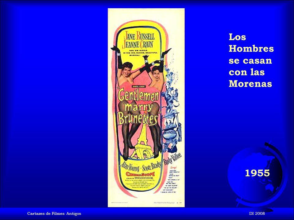 Cartazes de Filmes AntigosDI 2008 1955 La comezón del séptimo año