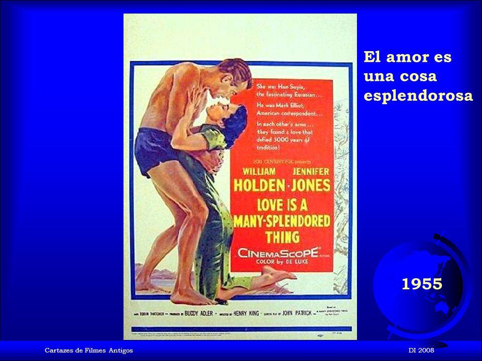 Cartazes de Filmes AntigosDI 2008 1955 Los Hombres se casan con las Morenas