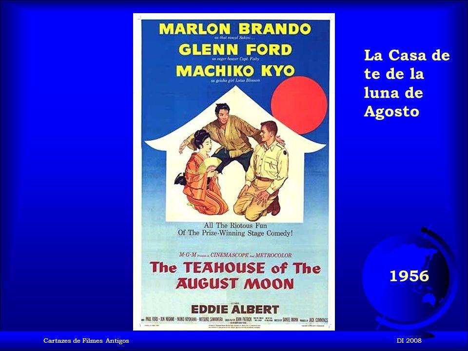 Cartazes de Filmes AntigosDI 2008 1955 Para atrapar un ladrón