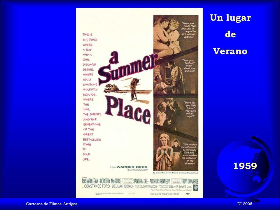 Cartazes de Filmes AntigosDI 2008 1958 Vértigo
