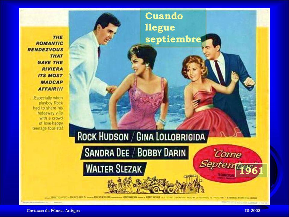 Cartazes de Filmes AntigosDI 2008 1961 Suave es la noche