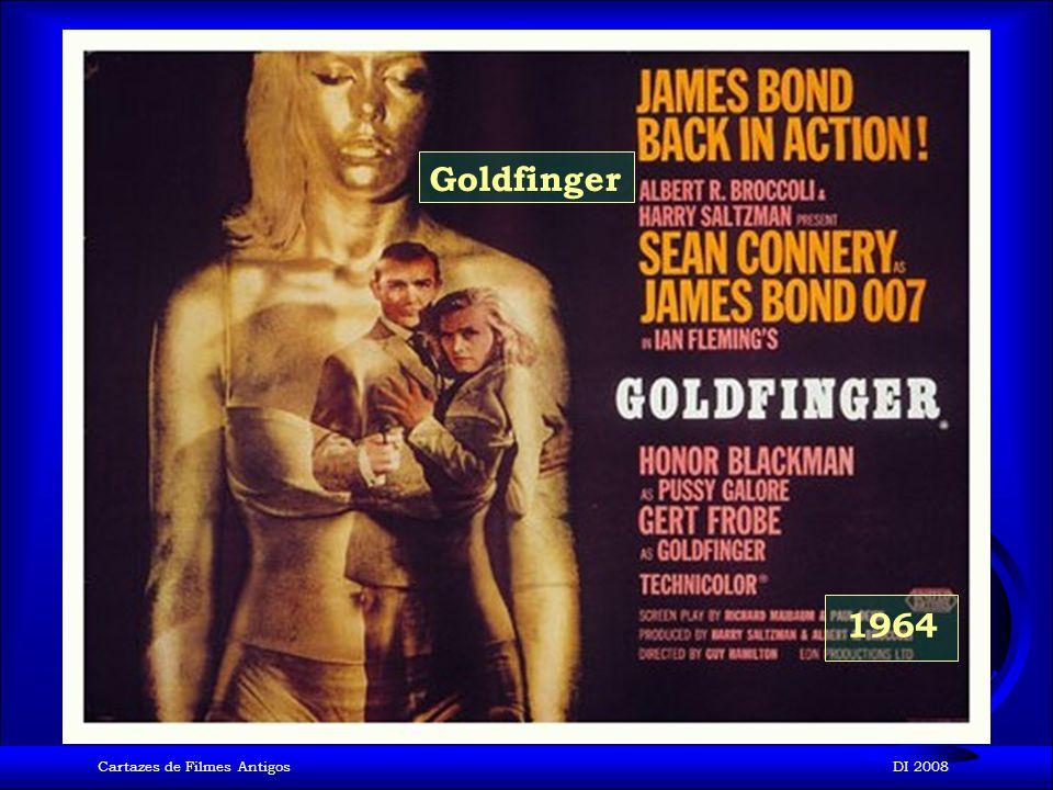 Cartazes de Filmes AntigosDI 2008 1963 De Rusia con amor