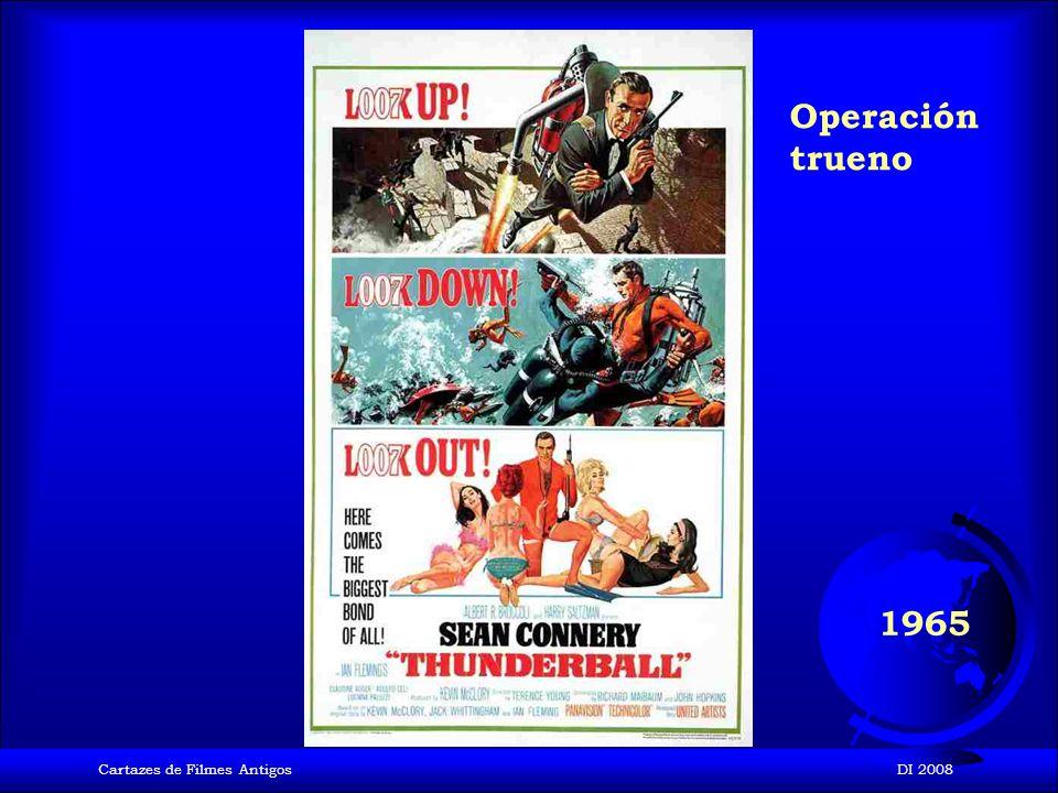 Cartazes de Filmes AntigosDI 2008 1964 Goldfinger