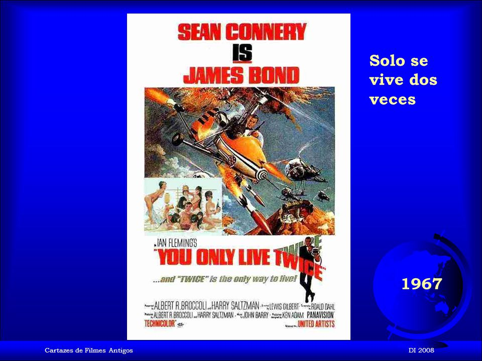 Cartazes de Filmes AntigosDI 2008 1965 Operación trueno