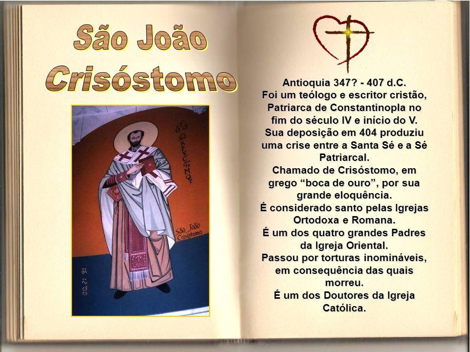 Também conhecido por São Bento Abade, nasceu na Itália em 480 e faleceu em 547.