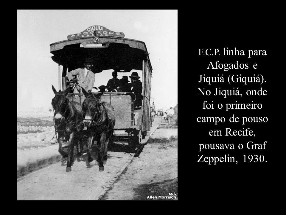 Ticket – Ferro Carril de Pernambuco, 1871