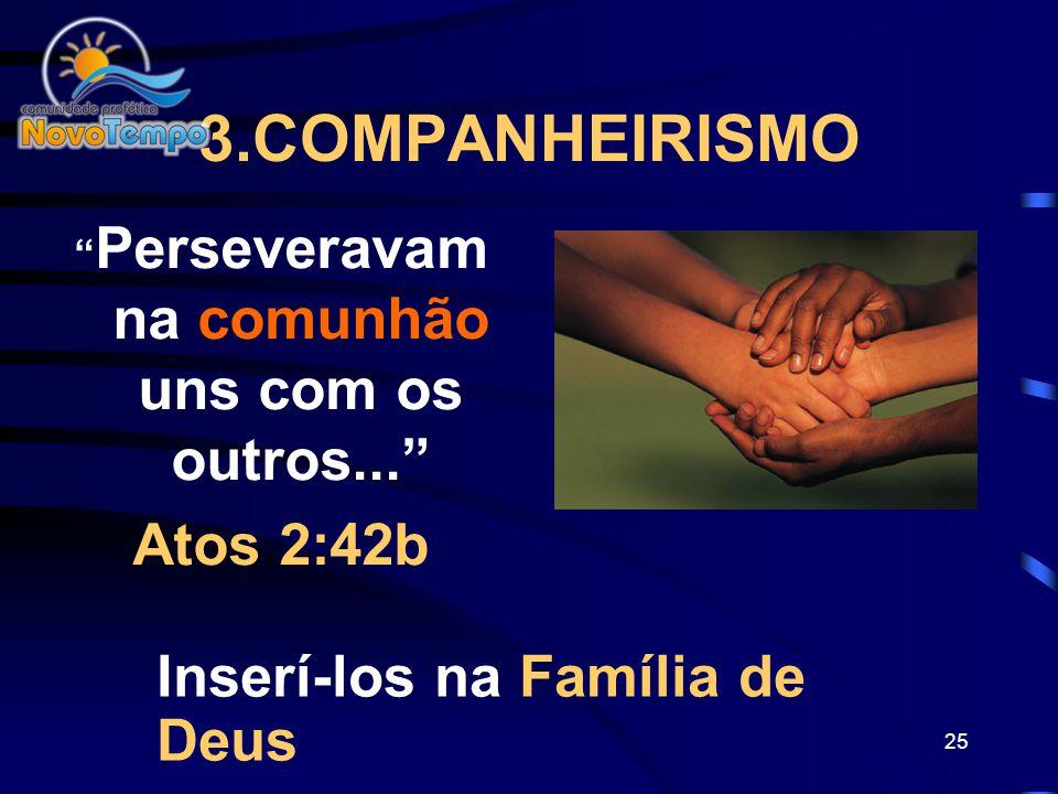 24 2. DOUTRINAR OS NOVOS CRENTES Eles se dedicavam ao ensino dos apóstolos Atos 2:42a