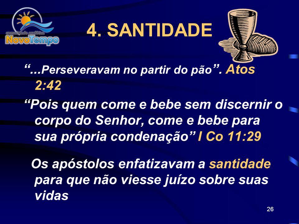 25 3.COMPANHEIRISMO Perseveravam na comunhão uns com os outros... Atos 2:42b Inserí-los na Família de Deus