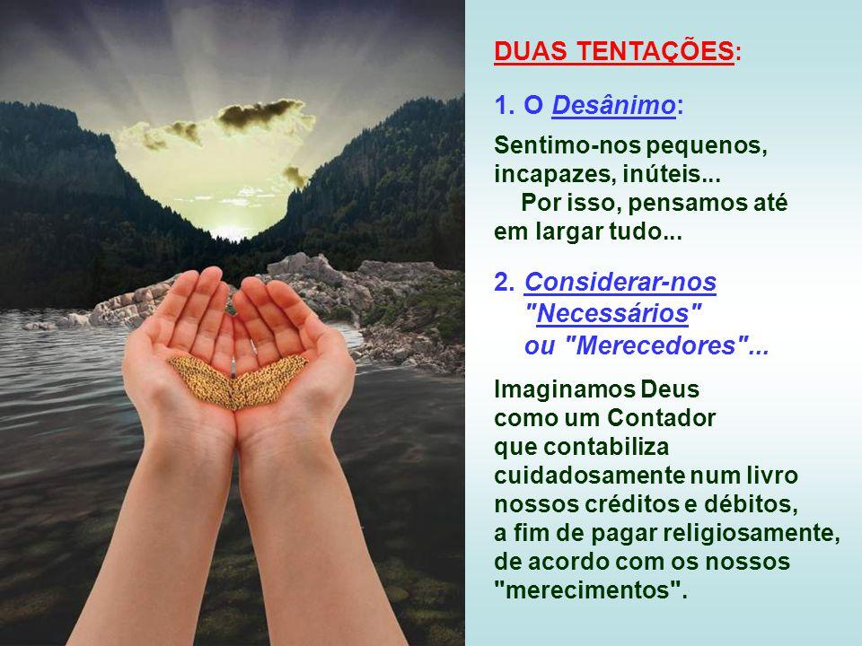 É aceitar realizar o plano de Deus em nós, a vontade de Deus...