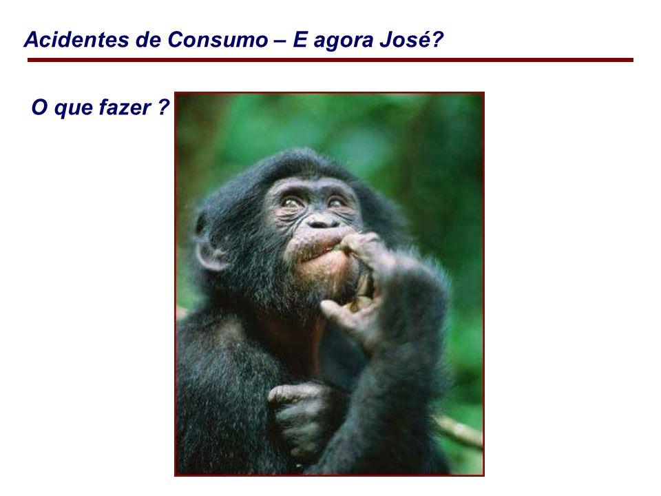 Acidentes de Consumo – E agora José? O que fazer ?