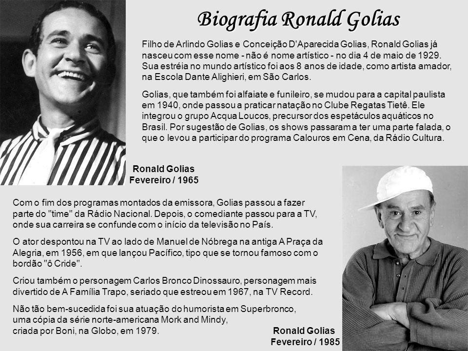 Mazzaropi Carequinha Arrelia Ronald Golias
