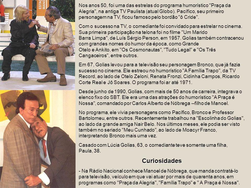 Em abril de 2004, estreou na rede de Silvio Santos o programa Meu Cunhado, protagonizado por ele, ao lado de Moacyr Franco, baseado em um seriado arge