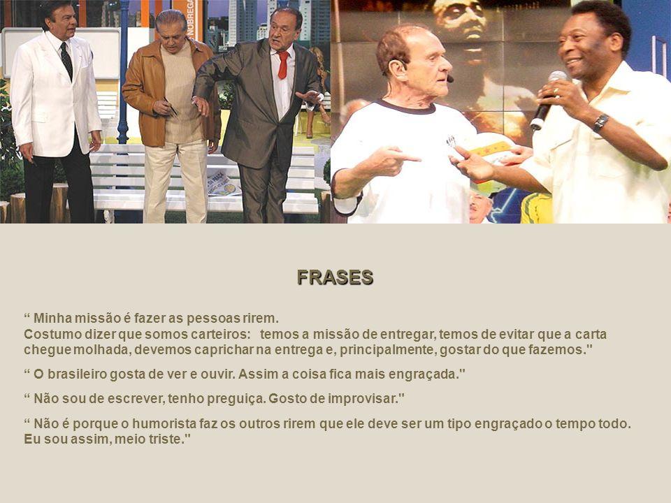 O comediante Ronald Golias, 76, morreu por volta das 5h30, São Paulo, 27 de setembro de 2005 por insuficiência de múltiplos órgãos, em São Paulo. O co