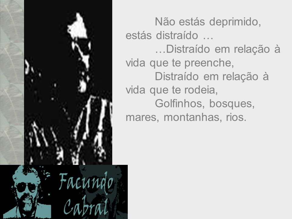 Uma reflexão extraordinária escrita por Facundo Cabral