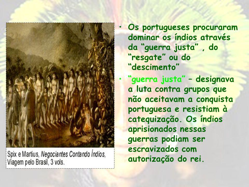 Quando a colonização ganhou força, a partir de meados do século XVI, as tentativas de convívio iniciais deram lugar a tensões e conflitos entre o conq
