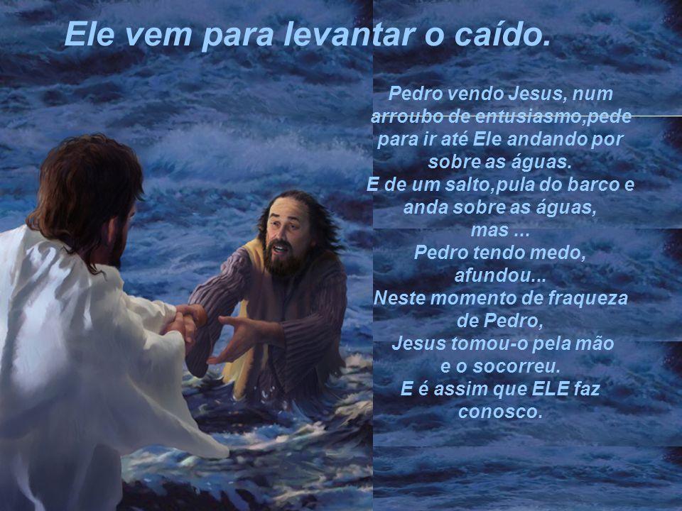 Não sei qual é o problema que aflige a sua alma nesta hora... Mas uma coisa eu lhe posso garantir: Jesus sabe que problema é esse e... Ele é maior que