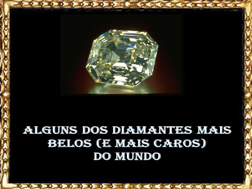 Diamante Olho do Ídolo Acredita-se, pela cor característica da pedra, que ela tenha sido encontrada na região das minas de Golconda, na Índia.