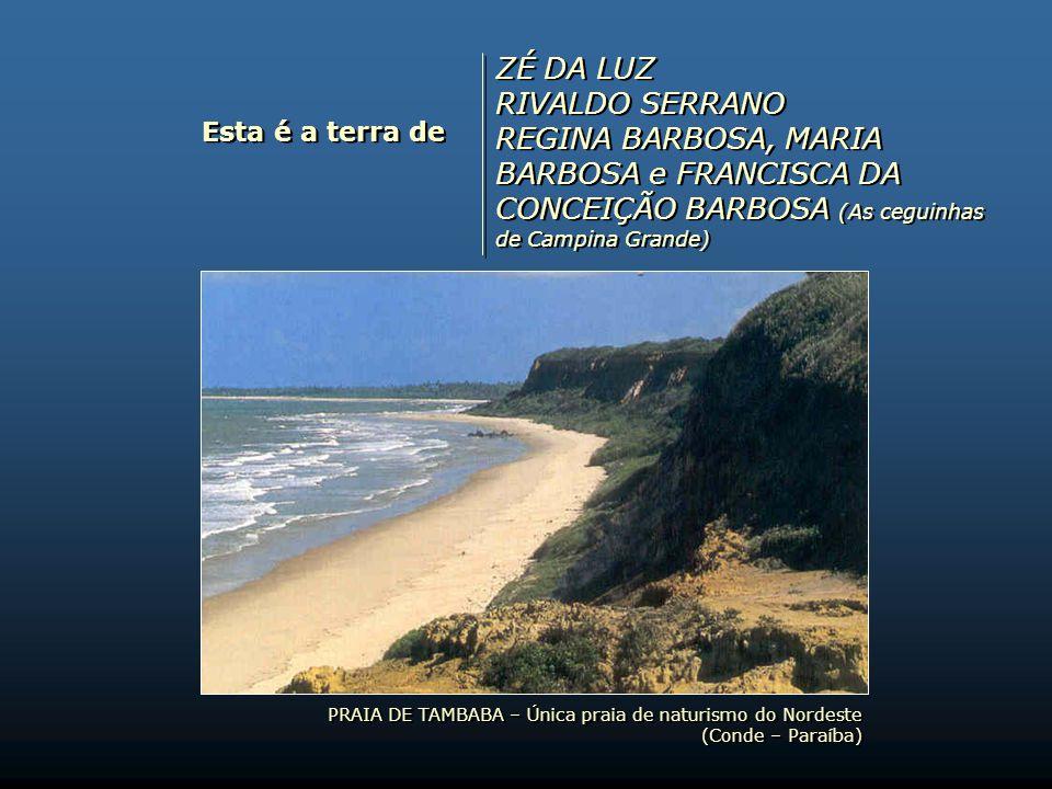 Esta é a terra de PÉRICLES LEAL DOMINGOS DE AZEVEDO RIBEIRO MANOEL DE ARRUDA CÂMARA LIVARDO ALVES DA COSTA PÉRICLES LEAL DOMINGOS DE AZEVEDO RIBEIRO M
