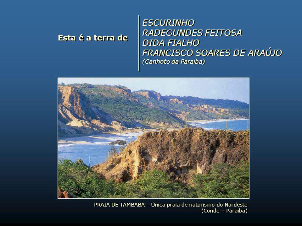 Esta é a terra de ZÉ DA LUZ RIVALDO SERRANO REGINA BARBOSA, MARIA BARBOSA e FRANCISCA DA CONCEIÇÃO BARBOSA (As ceguinhas de Campina Grande) ZÉ DA LUZ