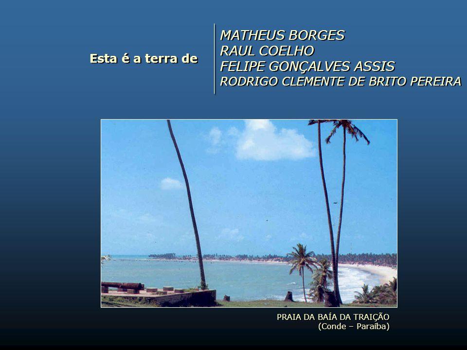 Esta é a terra de STENIO ALENCAR, CLODOALDO MUCARBEL, YEGOR GÓMEZ, LULA NICÁCIO, ANDRÉ RICARDO, FRANCY MOURA (todos integrantes do Capim Cubano) PRAIA