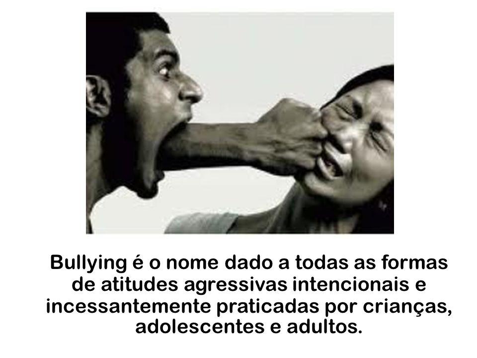 Quem nunca sofreu algum tipo de agressão verbal ou física?