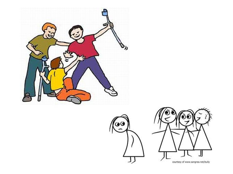 Segundo estudo realizado pela ABRAPIA (Associação Brasileira Multiprofissional de Proteção à Criança e ao Adolescente) o Bullying é praticado, não som