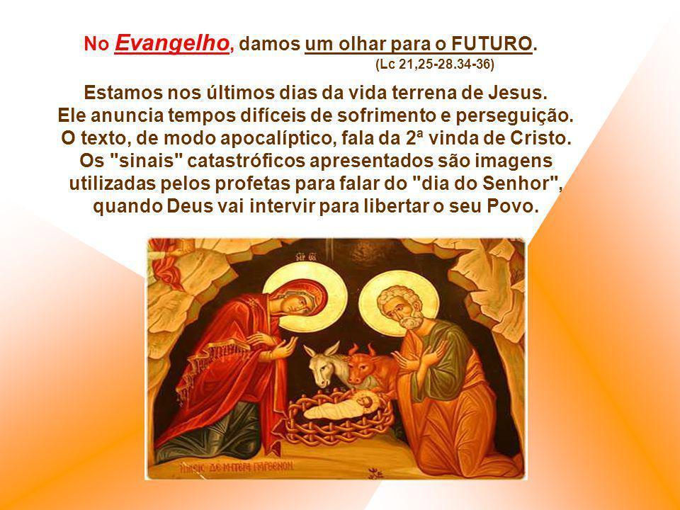 Contudo percebemos que a construção desse mundo novo não foi concluído com o nascimento de Cristo. Exige ainda muito tempo e de nossa colaboração. Na