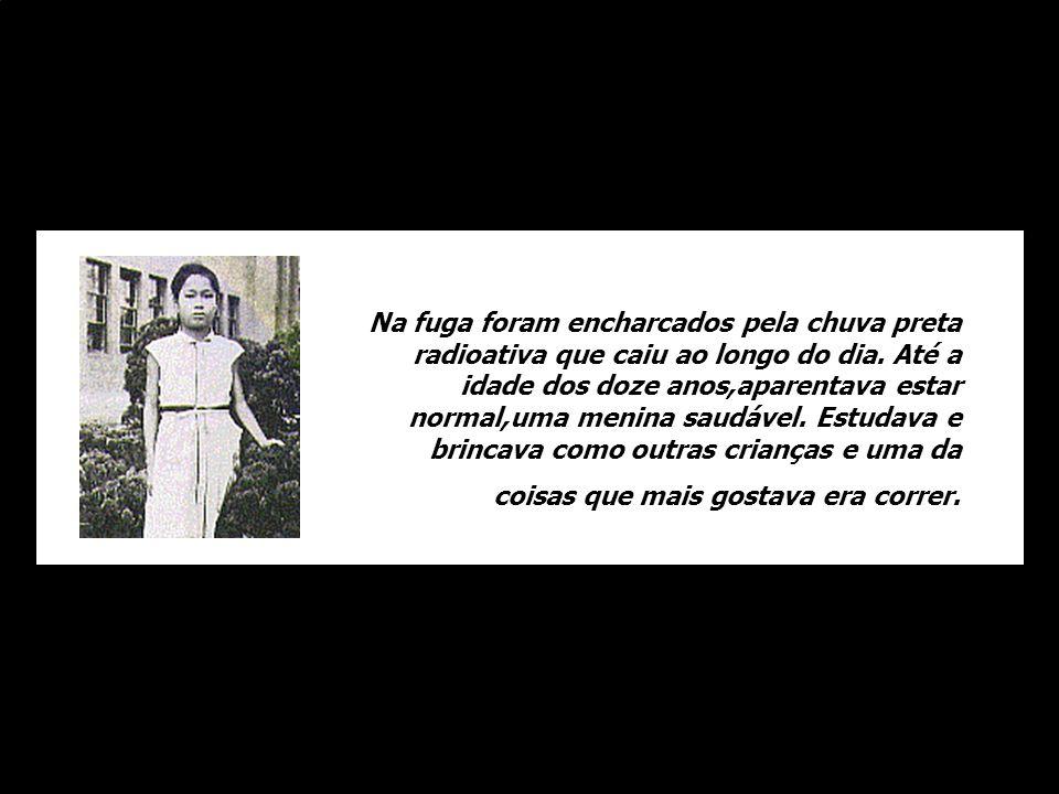 Quando lançaram a bomba em Hiroshima, uma menina chamada Sadako Sassaki estava para completar dez anos. Aparentemente ilesa, escapou com a mãe e o irm