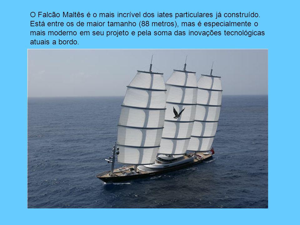 O Falcão Maltês é o mais incrível dos iates particulares já construído.