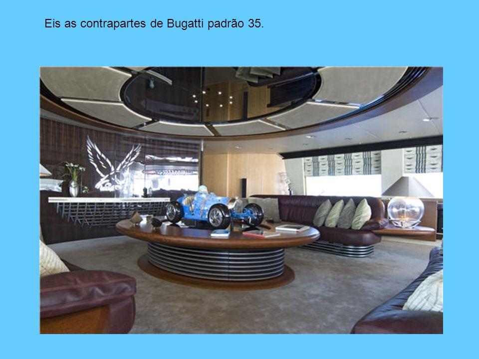 Eis as contrapartes de Bugatti padrão 35.