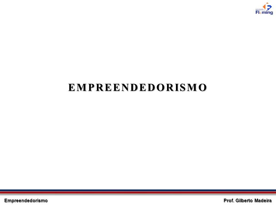 Empreendedorismo Prof. Gilberto Madeira