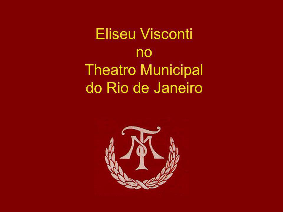 Eliseu Visconti no Theatro Municipal do Rio de Janeiro