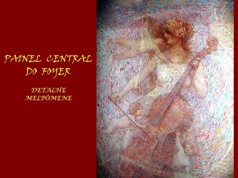PAINEL CENTRAL DO FOYER DETALHE MELPÔMENE