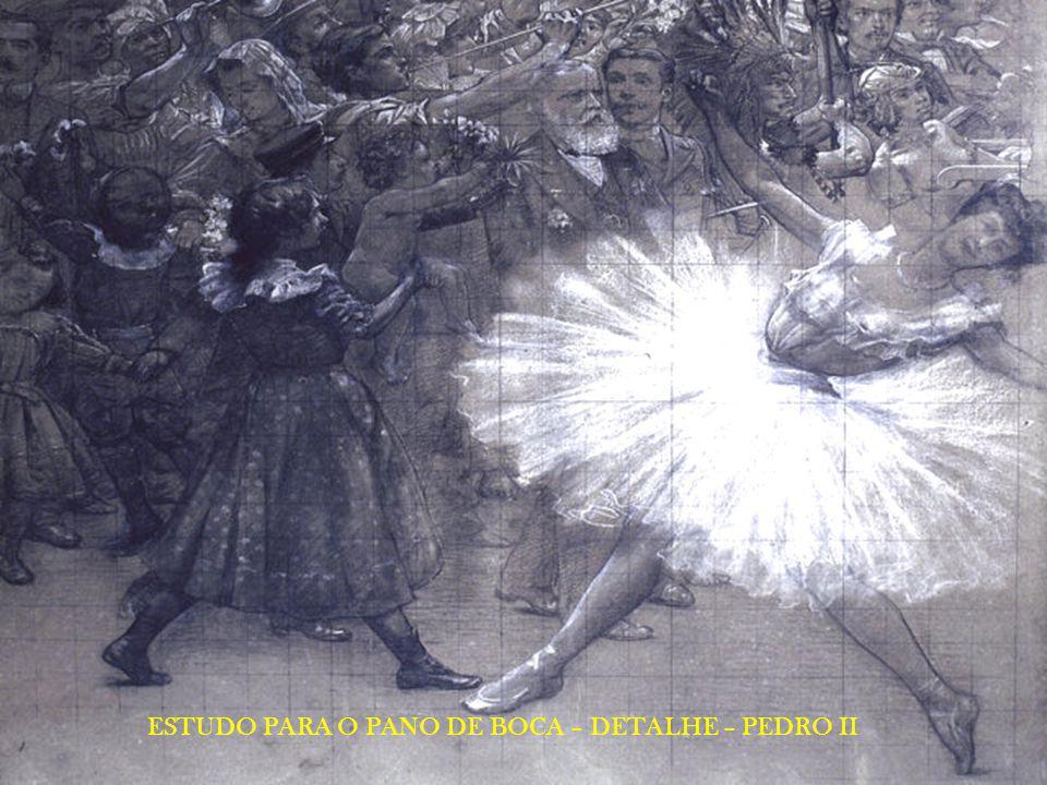 FRISO SOBRE O PROSCÊNIO - DETALHES