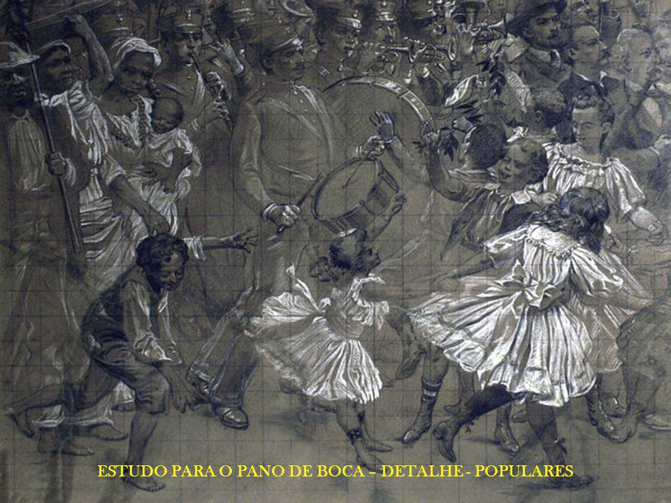 ESTUDO PARA O PANO DE BOCA – DETALHE - POPULARES
