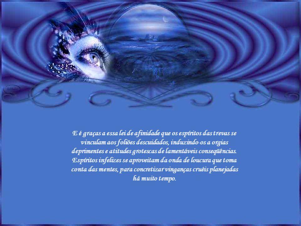 A sintonia, no Universo, como a gravitação, é lei da vida. Vive-se no lugar e com quem se deseja psiquicamente. Há um intercâmbio vibratório em todos