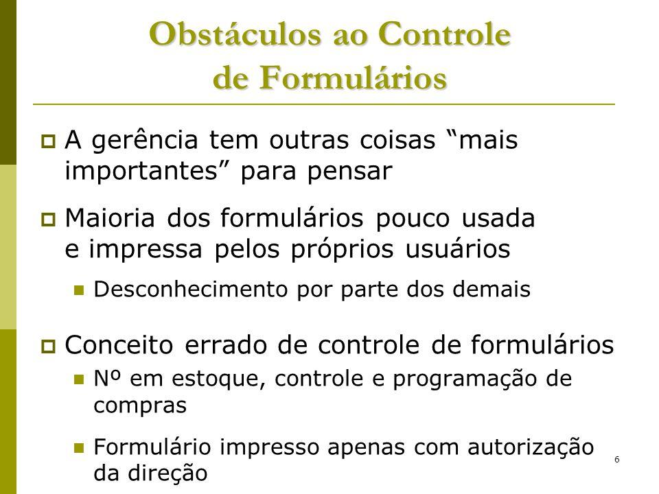 7 Formulários - Exemplos