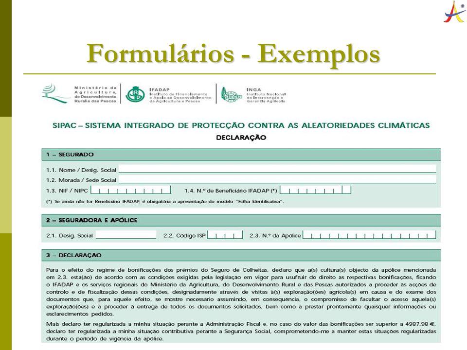 8 Tipos de Formulários Formulário Plano Formulário Plano Campos pré-impressos Campos pré-impressos Folhas soltas, talões, blocos ou fichas Folhas soltas, talões, blocos ou fichas