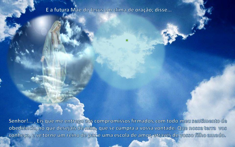 Os agentes de Deus com extremo respeito e dedicação, conduziram o microgameta para concretizar a fecundação.