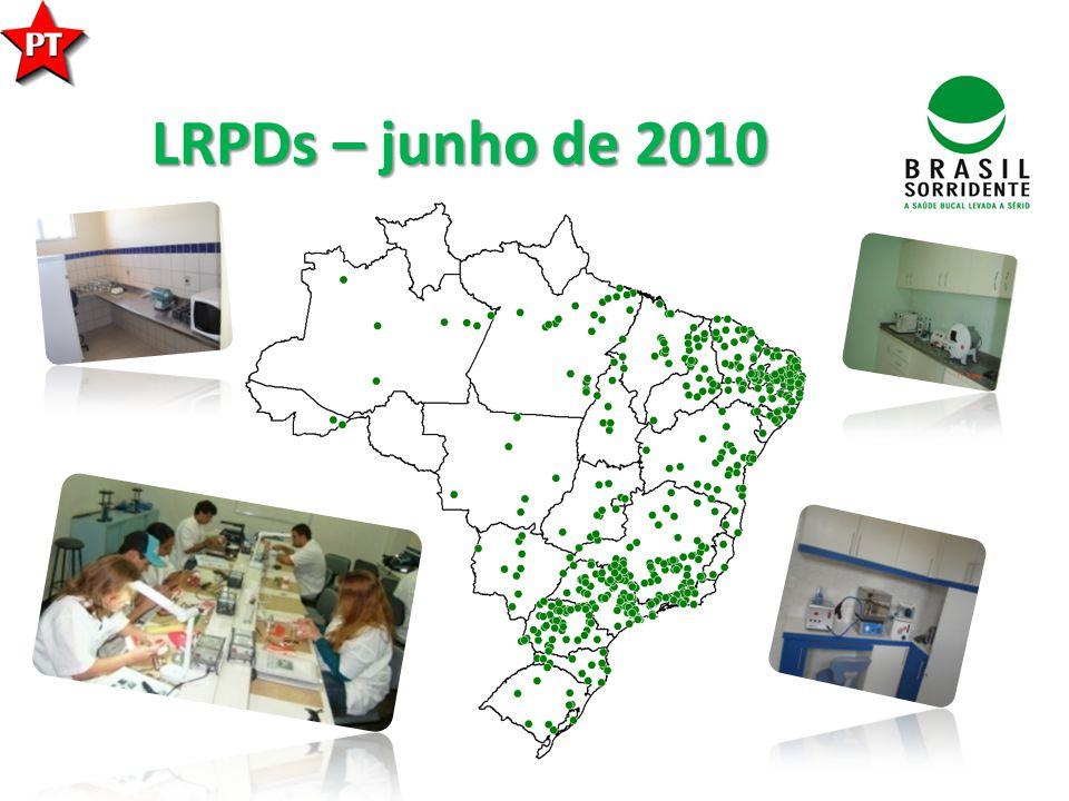 LRPDs – junho de 2010