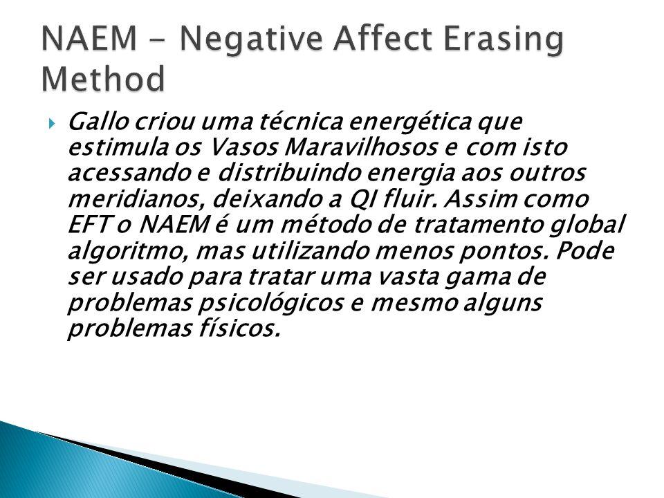 O NAEM pode ser considerado uma prática similar ao TFT e o EFT e relaciona-se a várias teorias energéticas, à teoria quântica, etc.
