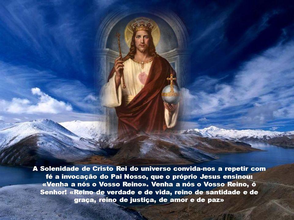 É necessário que Cristo reine em primeiro lugar na nossa inteligência, mediante o conhecimento da sua doutrina e o acatamento amoroso dessas verdades