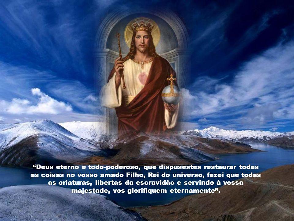 O reino de Cristo não se estende somente aos povos católicos, ou àqueles que, regenerados na fonte batismal, pertencem, por direito, à igreja, ainda q