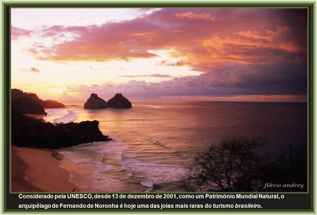 Considerado pela UNESCO, desde 13 de dezembro de 2001, como um Patrimônio Mundial Natural, o arquipélago de Fernando de Noronha é hoje uma das joias mais raras do turismo brasileiro.