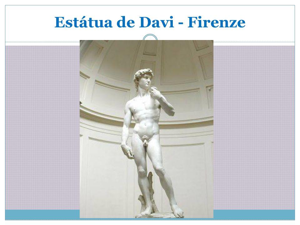 Estátua de Davi - Firenze