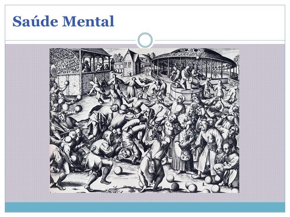 1) Loucos colocados à margem da sociedade (custódia do Estado, sem qualquer finalidade curativa) 2) Pinel (1793) observa o comportamento dos loucos, sem violência e desconforto, loucura=doença/ separação entre mania e melancolia/ Tratamento com conteúdo moralizante.