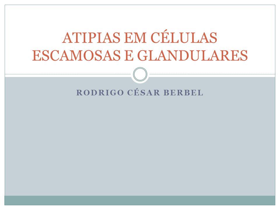 RODRIGO CÉSAR BERBEL ATIPIAS EM CÉLULAS ESCAMOSAS E GLANDULARES