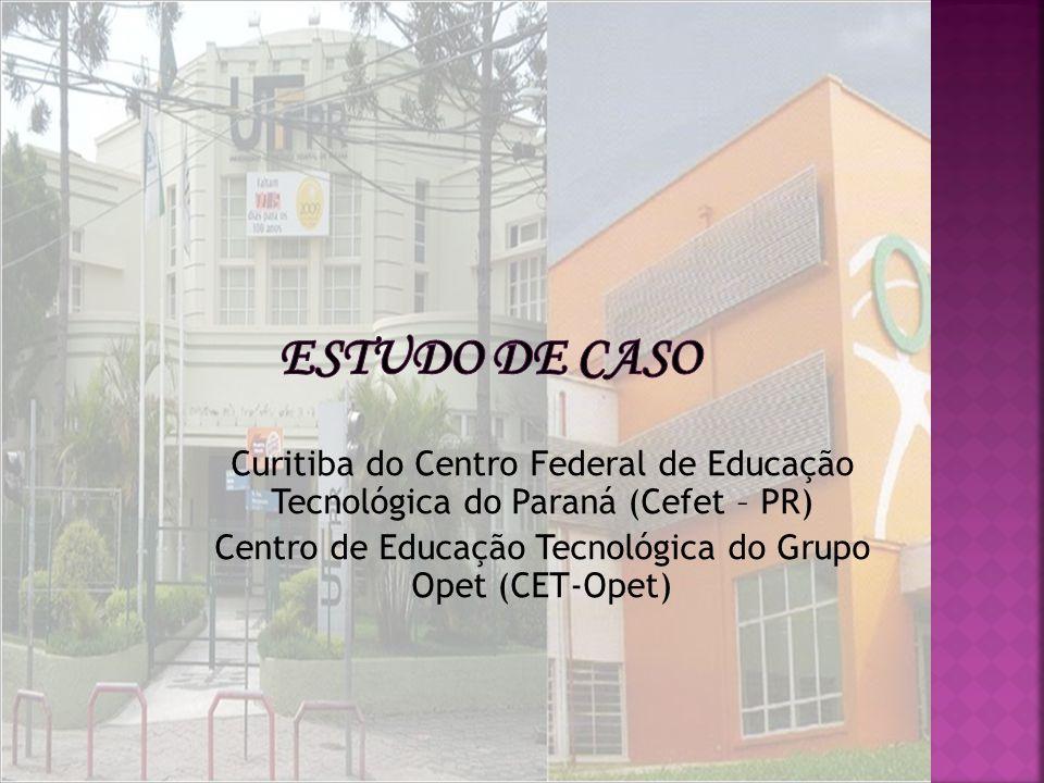 Curitiba do Centro Federal de Educação Tecnológica do Paraná (Cefet – PR) Centro de Educação Tecnológica do Grupo Opet (CET-Opet)