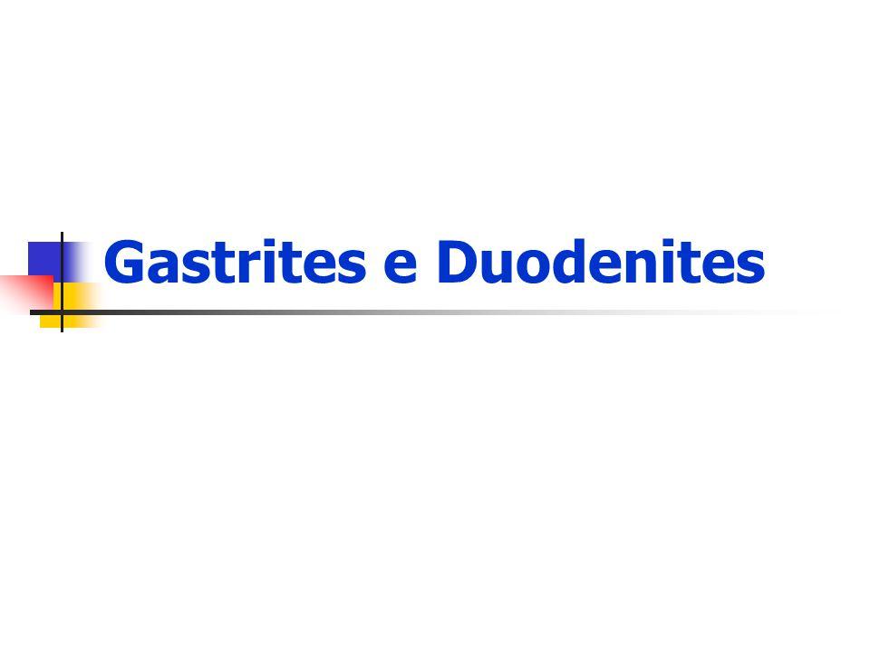 Gastrites e Duodenites